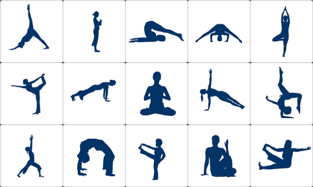 Yoga poses (CC0 image via Pixabay)