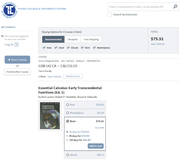 2014-09-11 16_24_31-Touro Online Bookstore