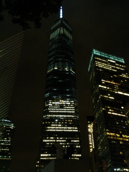 WTC at night (Photo courtesy of Annette Carr)