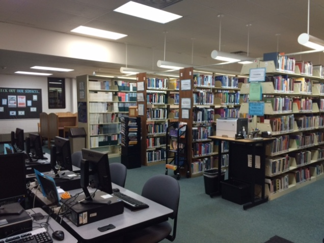 Quiet Time - Bay Shore Library. Taken by Rachel Oleaga
