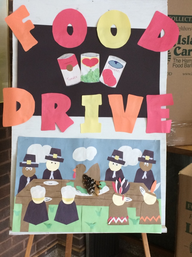 Food Drive Sign