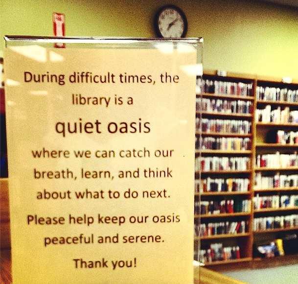 courtesy of Ferguson Public Library's Instagram feed.