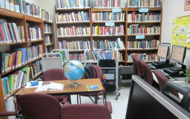 "The ""small, but cozy"" library at Starrett City"