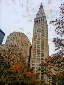 Met Life building from Madison Square Park (photo by Richard Green)
