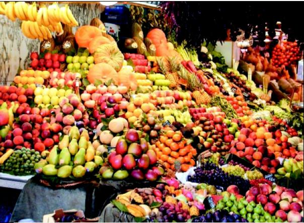 Fruit market in Tehran (Image by )