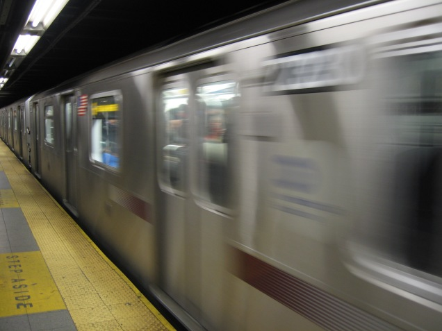NYC Subway Train (CC0 image via Wikimedia)