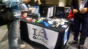 Enable booth