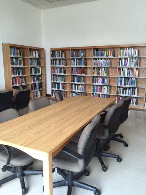 The new study room at the King's Highway library