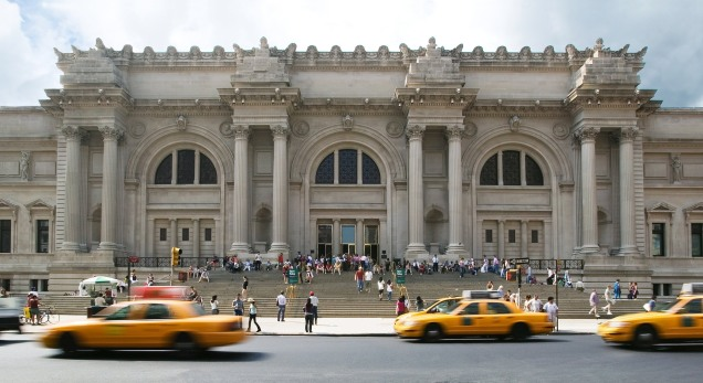 Metropolitan Museum of Art, 82nd & 5th (photo by Rosa Ghiam)