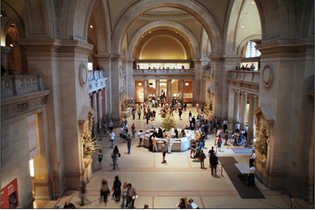 Met Museum Main Hall (photo by Rosa Ghiam)