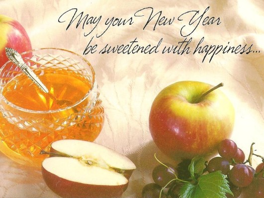 May Your New Year Be Sweetened with Happiness