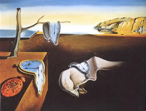 """The Persistence of Memory"" by Salvador Dali (image via WikiArt)"