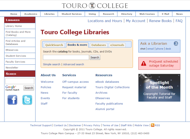 2015-11-12 12_01_23-Touro College Libraries