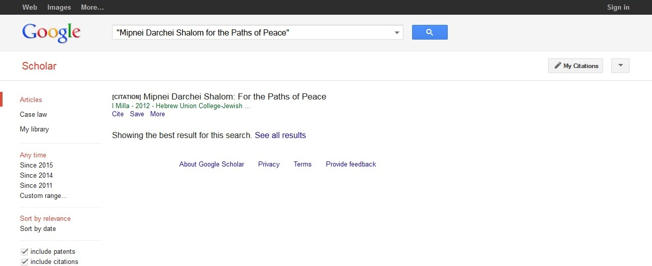research paper google scholar