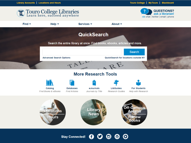 2016-01-25 13_16_23-Touro College Libraries