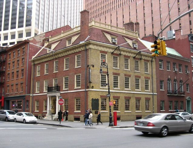 Fraunces Tavern, located at 54 Pearl Street