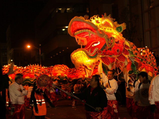 Chinese New Year celebrations in San Francisco (photo by Daniel Dionne)