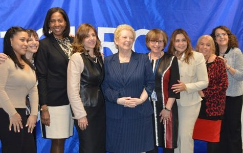 Panelists and attendees at the Women's Leadership Council Panel Discussion