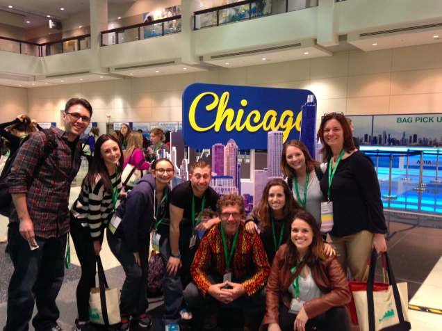 Occupational Therapy Students at the Chicago conference