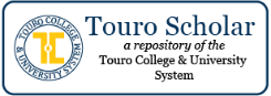 Touro Scholar is a new repository for providing access to research produced by Touro faculty and community members