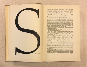 James Joyce's Ulysses. Designed by Reichl in 1934