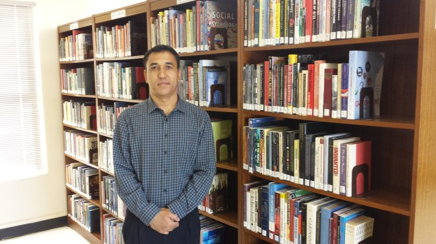 Library Assistant Abin Thakuri