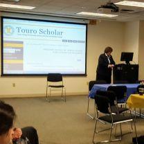Dean Salkin discusses faculty scholarship
