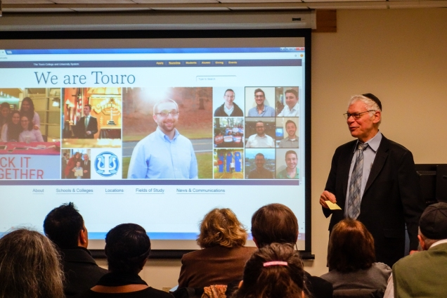 Touro VP of Technology, Dr. Frank Steen