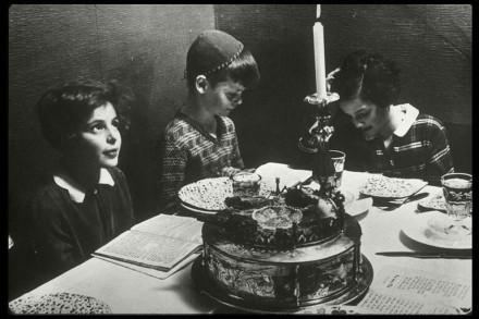 AhawahChildren's Home, Berlin; Passover Seder Table