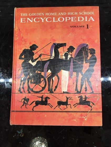Golden Home and High School Encyclopedia VOlume 1